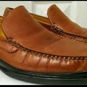 Cole Haan Nike Air Santa Barbara Cognac Loafers